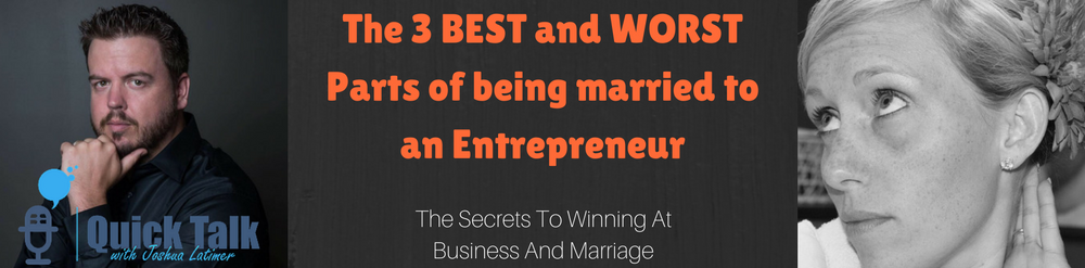 """""""There is nothing worse for a business than a nagging wife"""" and I agree."""