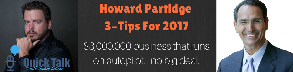 Howard Partridge has a knack for developing an unusual company culture, attracting/growing top talent and motivating people.