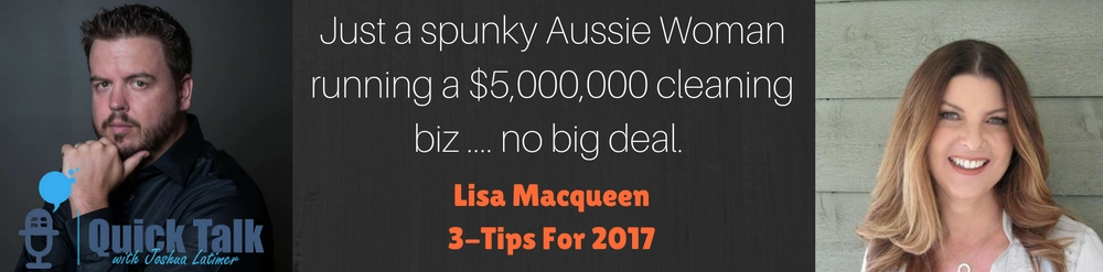 When I think of Australia, I think of Crocodile Dundee, Kangaroos and of course Lisa Macqueen!