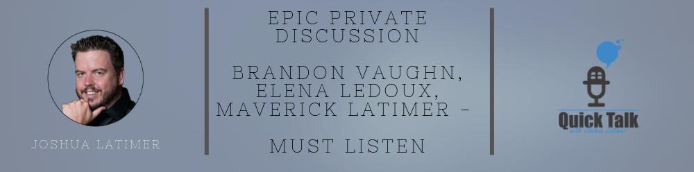 Brandon Vaughn Elena Ledoux Maverick Latimer
